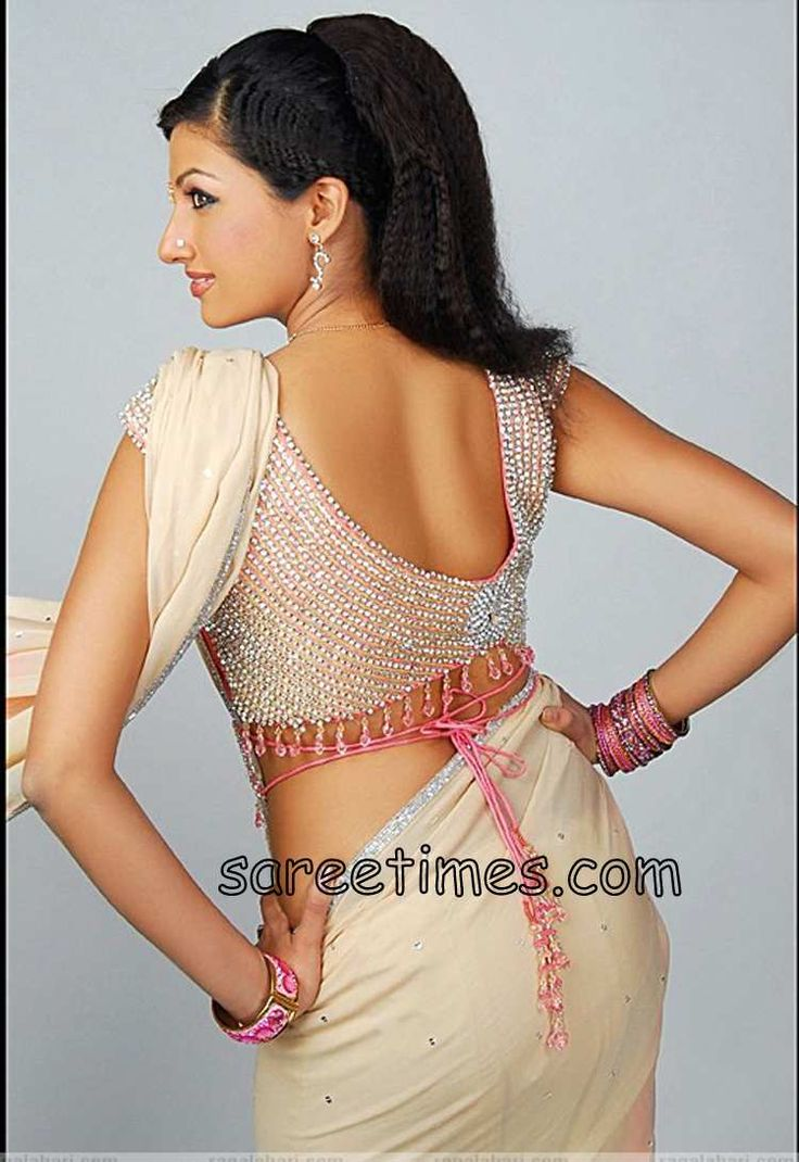 New Design For Saree Blouse | ... wonderful sarees with equally gorgeous saree blouses to look fabulous