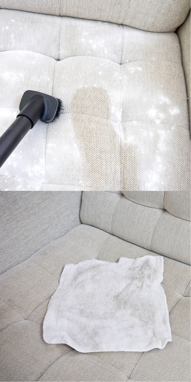 DIY Couch Cleaning Ideas and Tips #Vocalpoint #House #Home