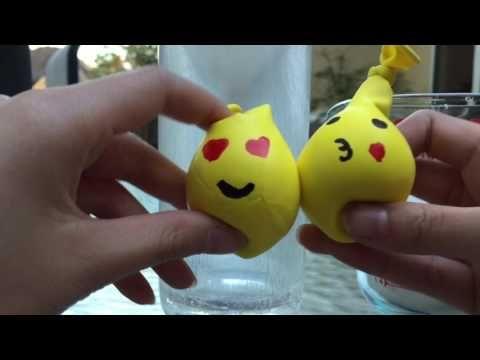 Emoji Stress Balloons
