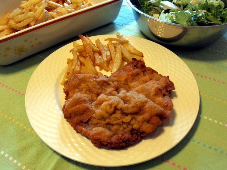 Bistecca di manzo impanata