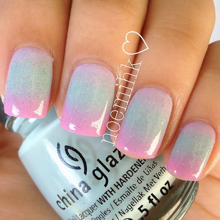 Candy Nail Polish: 25+ Best Ideas About Cotton Candy Nails On Pinterest