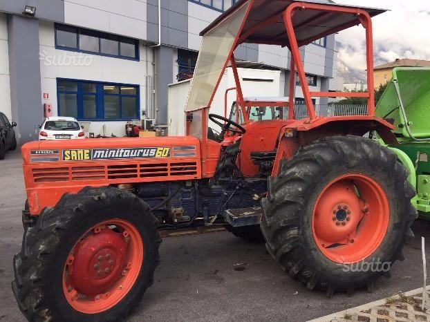 Trattore agricolo same minitaurus 60 dt trattori agricoli for Subito milano