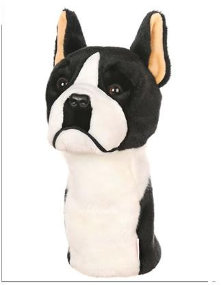 Boston Terrier Dog Golf Animal Headcover