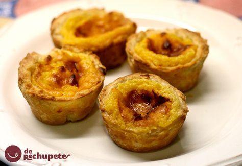 Unos pastelillos portugueses de hojaldre y crema que son originarios del barrio de Belem, en las orillas del río Tajo. Quizás de los más famoso de la cocina portuguesa. Preparación paso a paso y fotos.