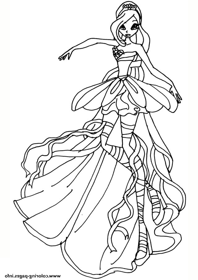 6 Winx Club Coloring Pages In 2020 Club Color Coloring Pages