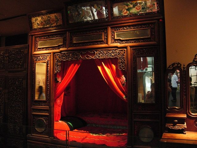 CHINESE WEDDING BEDS | Wedding Bed In Traditional Chinese Style | Alcove U0026  Tented Beds