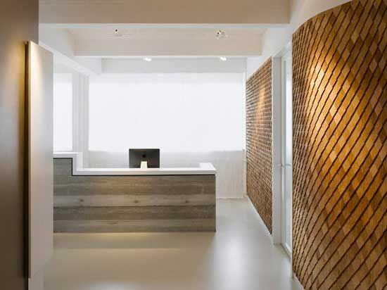 A Modern Office Space Design Reception Area