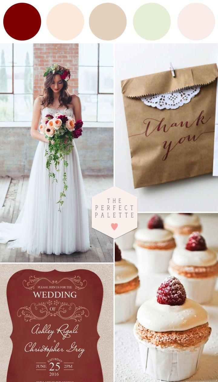 Marsala Wedding Ideas for Fall