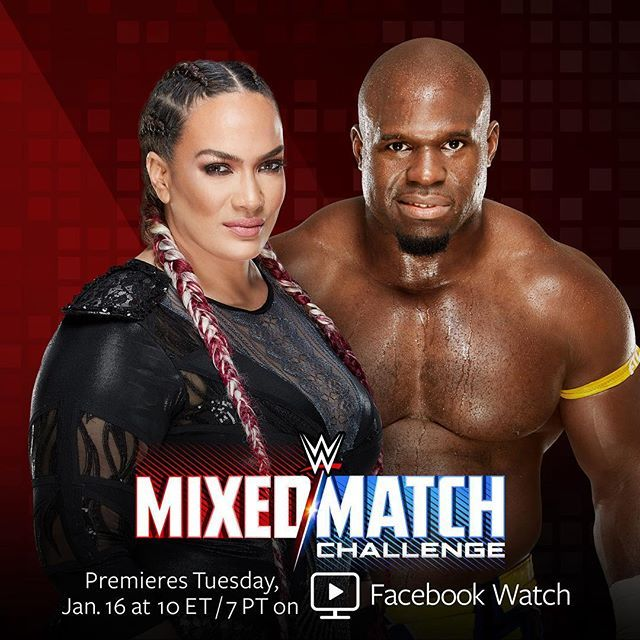 wwe #RAW's latest #WWEMMC pairing is not like most teams... get ready for the tandem of @niajaxwwe and @apollocrewswwe!  2018/01/06 04:18:08