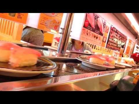 """▶ Conveyor belt sushi restaurant """"Hama sushi"""" - YouTube"""