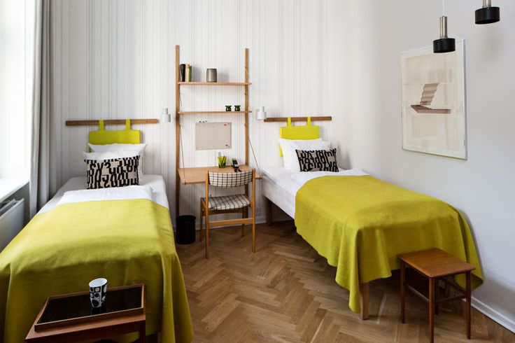 4 copenhagen hotels that combine good design and green sensibility twin room bed heads and twin. Black Bedroom Furniture Sets. Home Design Ideas