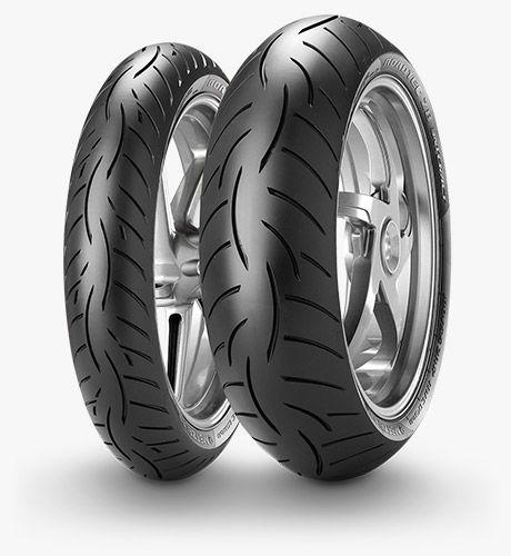 Metzeler ROADTEC Z8 INTERACT Tires.