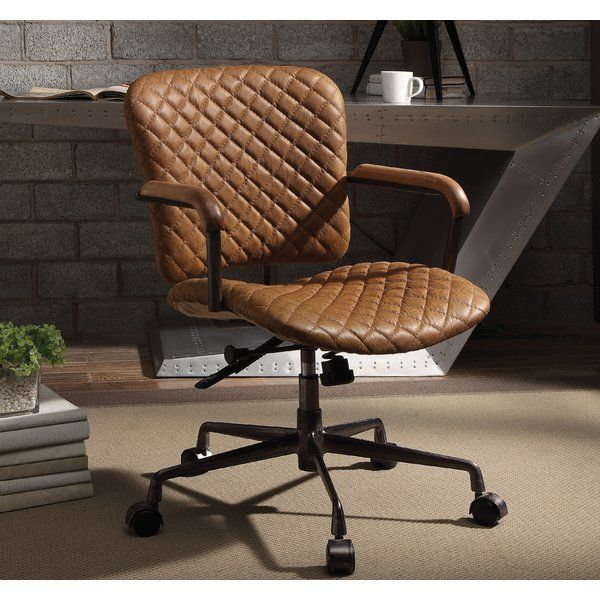 Demars Leather Task Chair Leather Office Chair Best Office Chair Task Chair