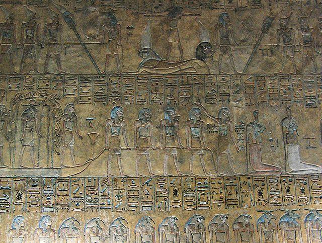 世界遺産 王家の谷の壁画 古代都市テーベとその墓地遺跡の絶景写真画像  エジプト