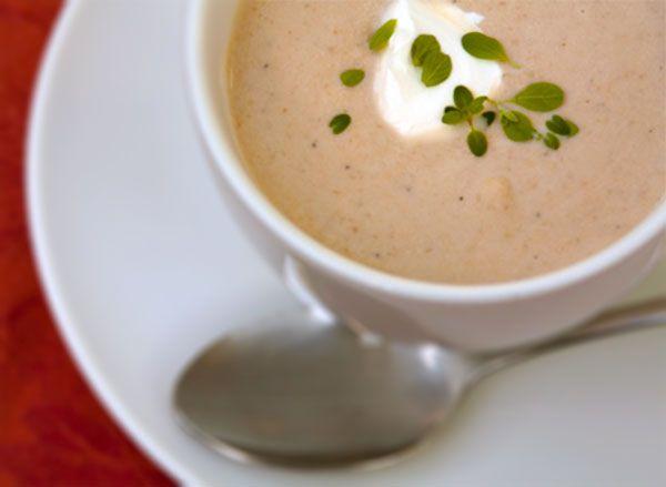 Crema de champiñones, una receta de invierno | Recetas