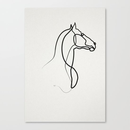Horse Line Drawing Tattoo : Best images about horse drawings on pinterest