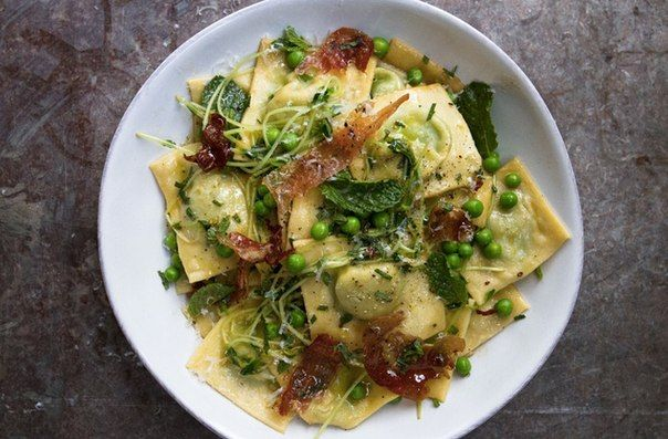 Real Italian ravioli