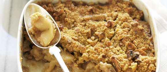 Apple-Walnut Crisp
