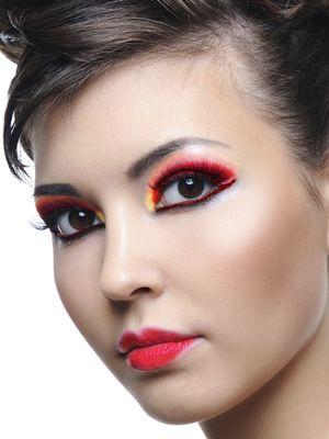 67 best Devil makeup images on Pinterest | Devil makeup, Make up ...