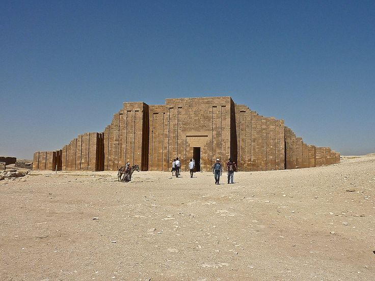 17 best images about history egypt step pyramid of for Imhotep architecte