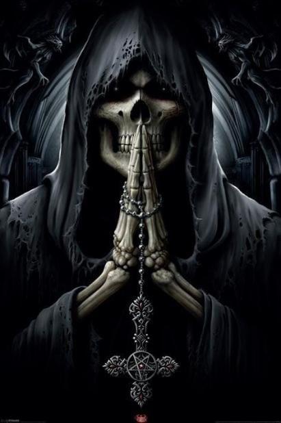 santa muerte   oracion de agradecimiento santa muerte al caminar la tierra llamo a ...
