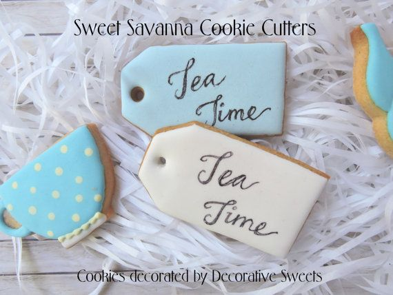 Tea Bag Cookie Cutter Size available approx 2 inches x 1.1 inches 2.5 inches x 1.5 inches 3 inches x 1.6 inches Made To Order. Made from