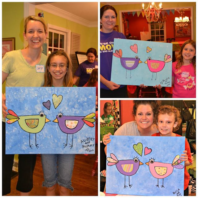 The Intentional Home: Mother/Daughter Craft Night #1
