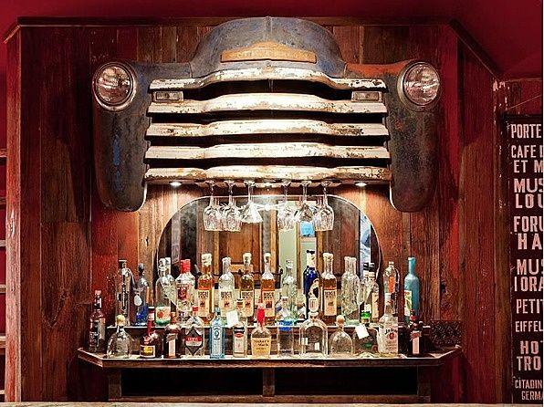 camión viejo bar húmedo