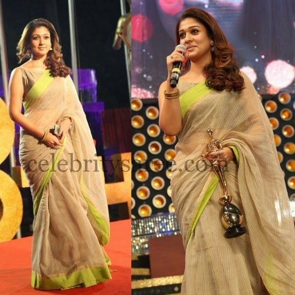Nayantara Chanderi Cotton Saree | Saree Blouse Patterns