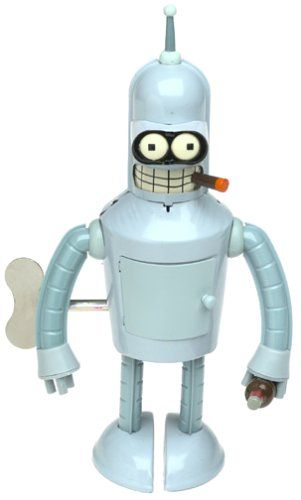 Futurama Bender Wind-Up Robot Action Toy, 2015 Amazon Top Rated Wind-up Toys #Toy