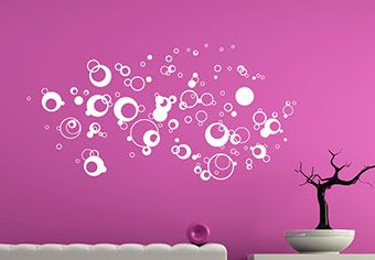 Air Bubbles Wall Decal - Awesome Home Decoration