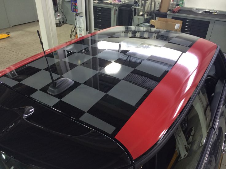 Roof graphics for Mini Cooper by Sign Dazign, Melbourne