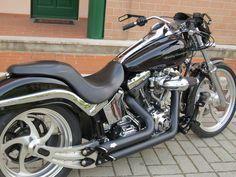 Speaking of Legends – Luca Manni & his Machine [Harley Davidson Deuce] - Trip Machine Company