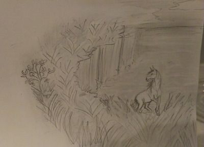 #capall uisce #my art #scenery #K.R.