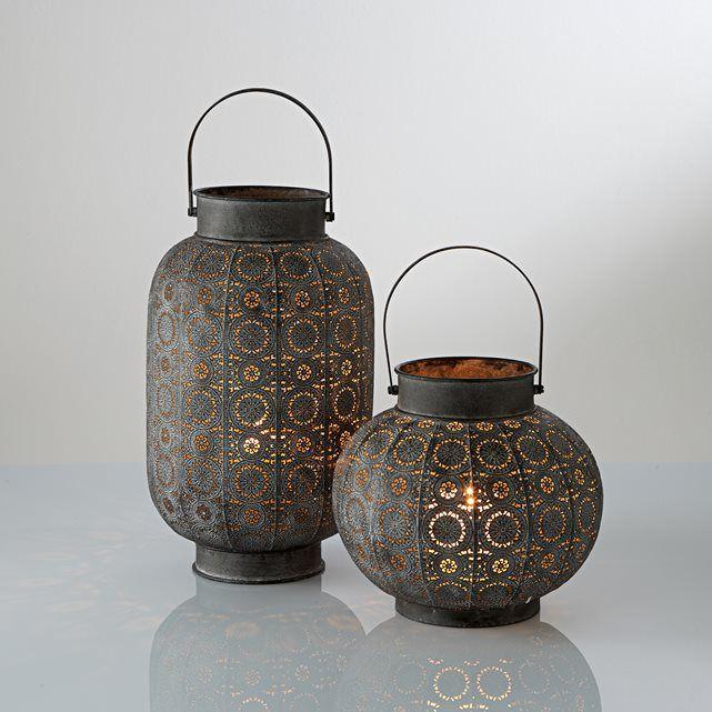 Hirö Metal Lantern La Redoute Interieurs