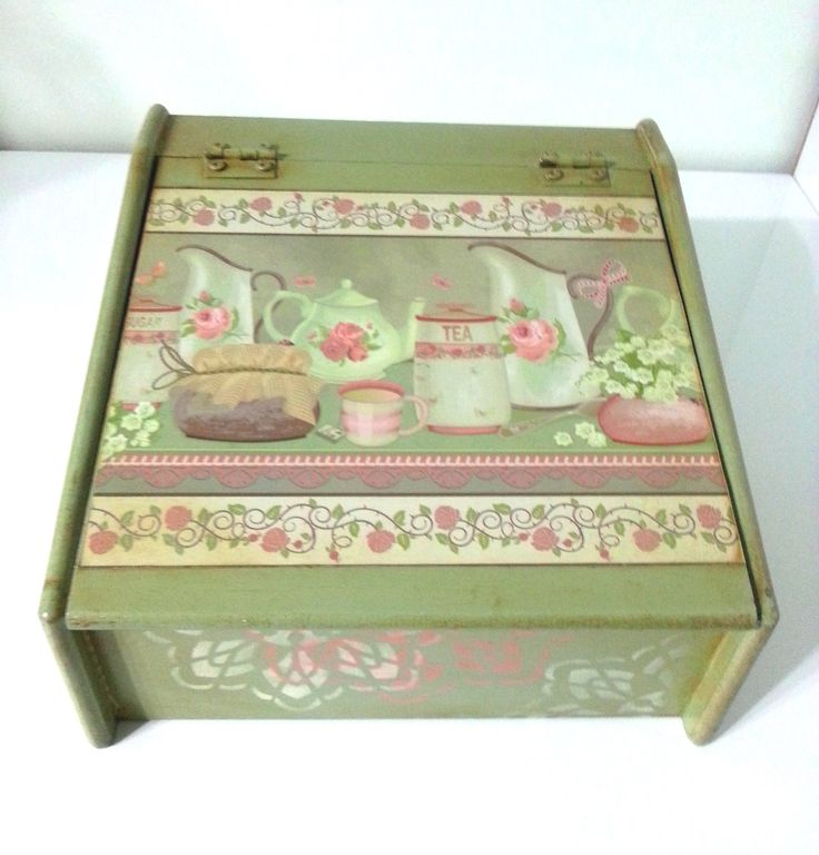 Wooden Tea Box Decorated With Decoupage. Wooden Tea Box. Tea Gift Box. Personalized Tea Box. by CULTURALSHOPPING on Etsy https://www.etsy.com/listing/230822981/wooden-tea-box-decorated-with-decoupage
