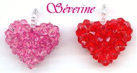 Séverine et les perles de rocaille (RAW heart)  #Seed #Bead #Tutorials