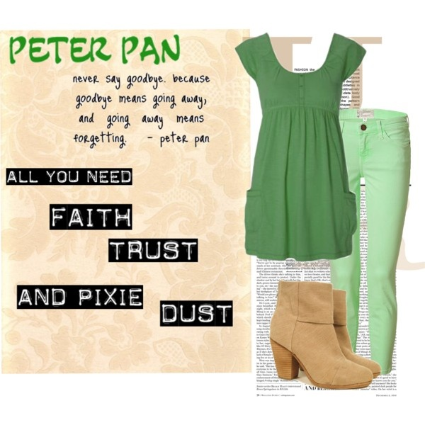 Peter Pan, created by disney-bound on Polyvore