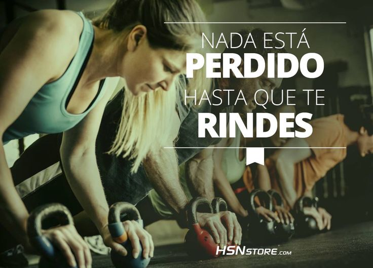 Nada está perdido hasta que te rindes. #fitness #motivation #motivacion #gym…