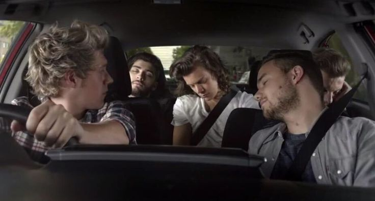 Toyota Commercial! Eyes on the road Niall!