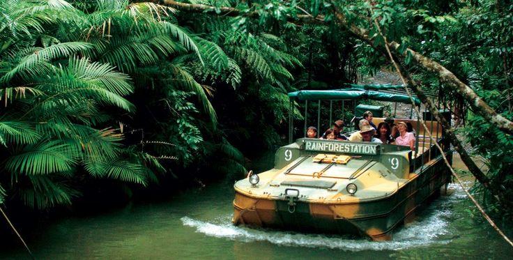 Kuranda Rainforest - The beautiful mountain retreat of Kuranda is located just 25km northwest of Cairns.