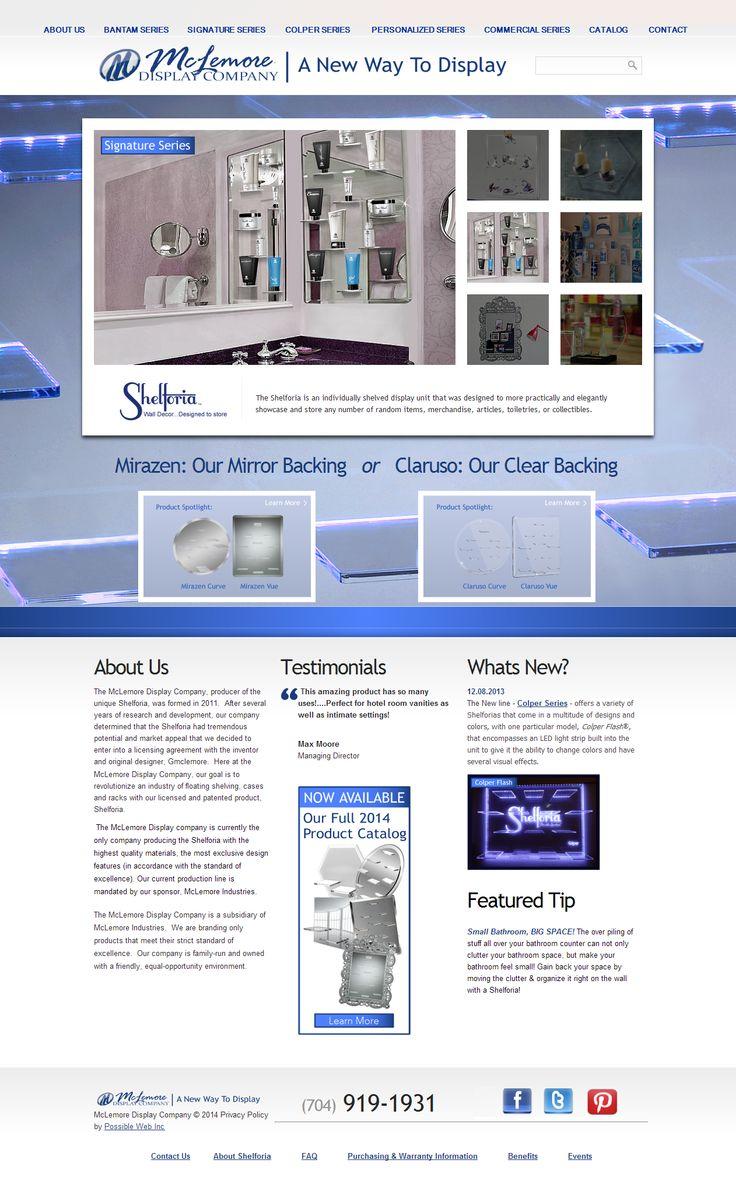 McLemore Design Company Shelforia Floating Shelves New Web
