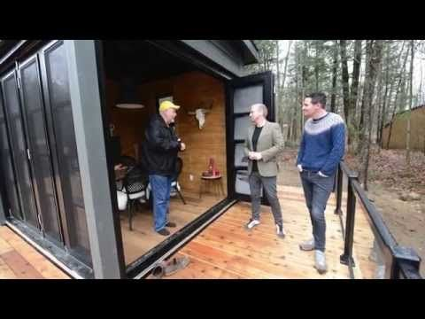 WeatherMaster Plus stacking doors by Sunspace Sunrooms
