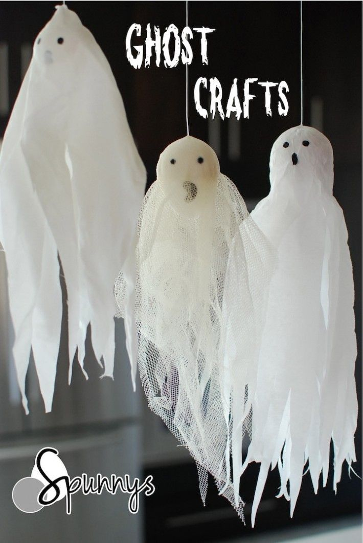 For halloween you can use spun cotton shapes to make for Halloween decorations crafts to make