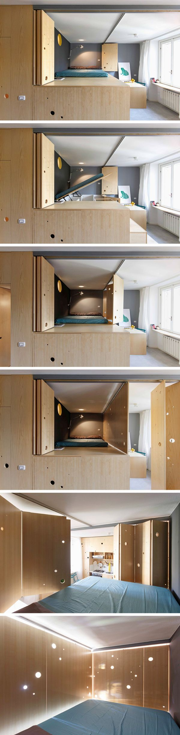 28 best SMALL HOMES images on Pinterest | Tiny spaces, Small ...