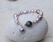 Bracelet with amazing pearls
