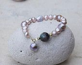 Bracelet with amazing pearls