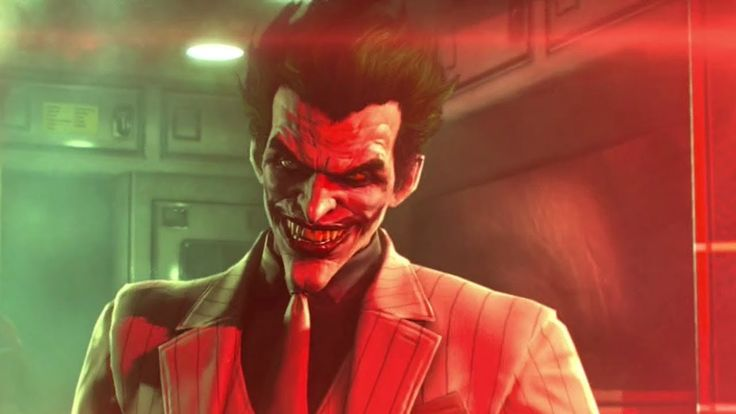 Batman: Arkham Origins - Joker Reveal