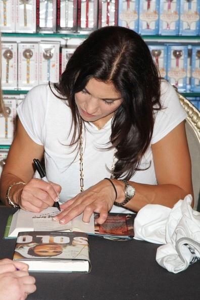 Hope Solo, book signing, Sugar Factory at the Paris Las Vegas, Sept. 28, 2012. (PacificCoastNews.com)