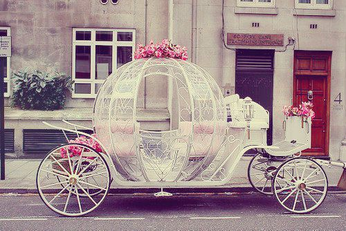 Aww real life Cinderella carriage!